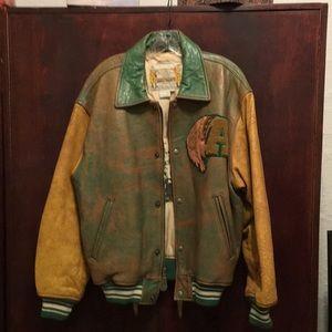 Avirex Vintage Varsity Jacket New Never Worn.